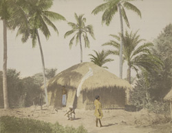 Native hut, Bengal